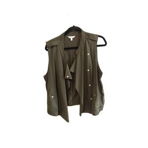 Juicy Couture Olive Green Vest